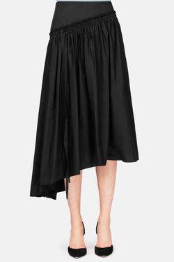 Gathered Skirt - Black