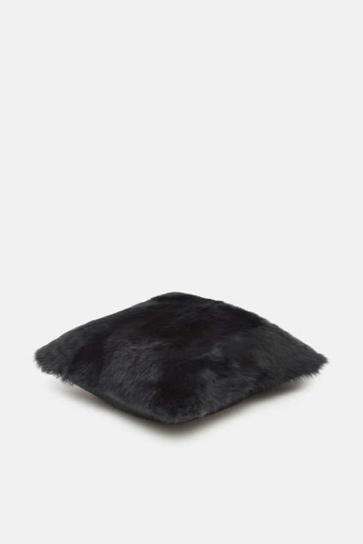 Navy Toscana Fur Pillow