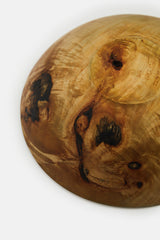 Vintage Mike Mahoney Turned Wood Bowl