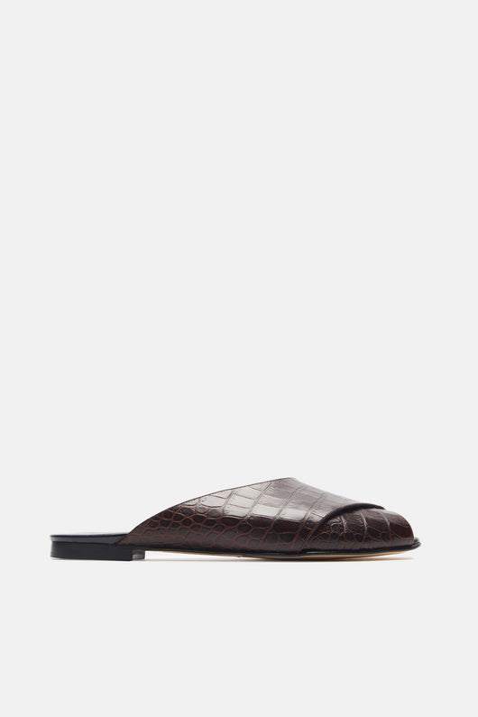 Pajama Sandal - Chocolate Brown