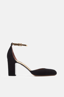 Cooper Mary Janes - Black/Gold
