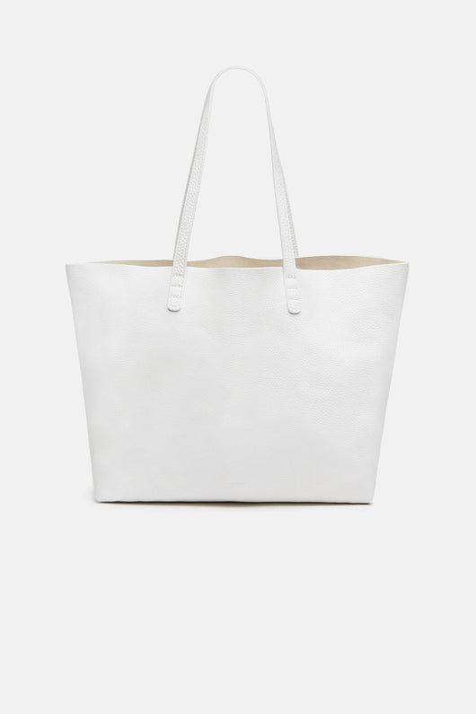 Large Tote Tumble - White