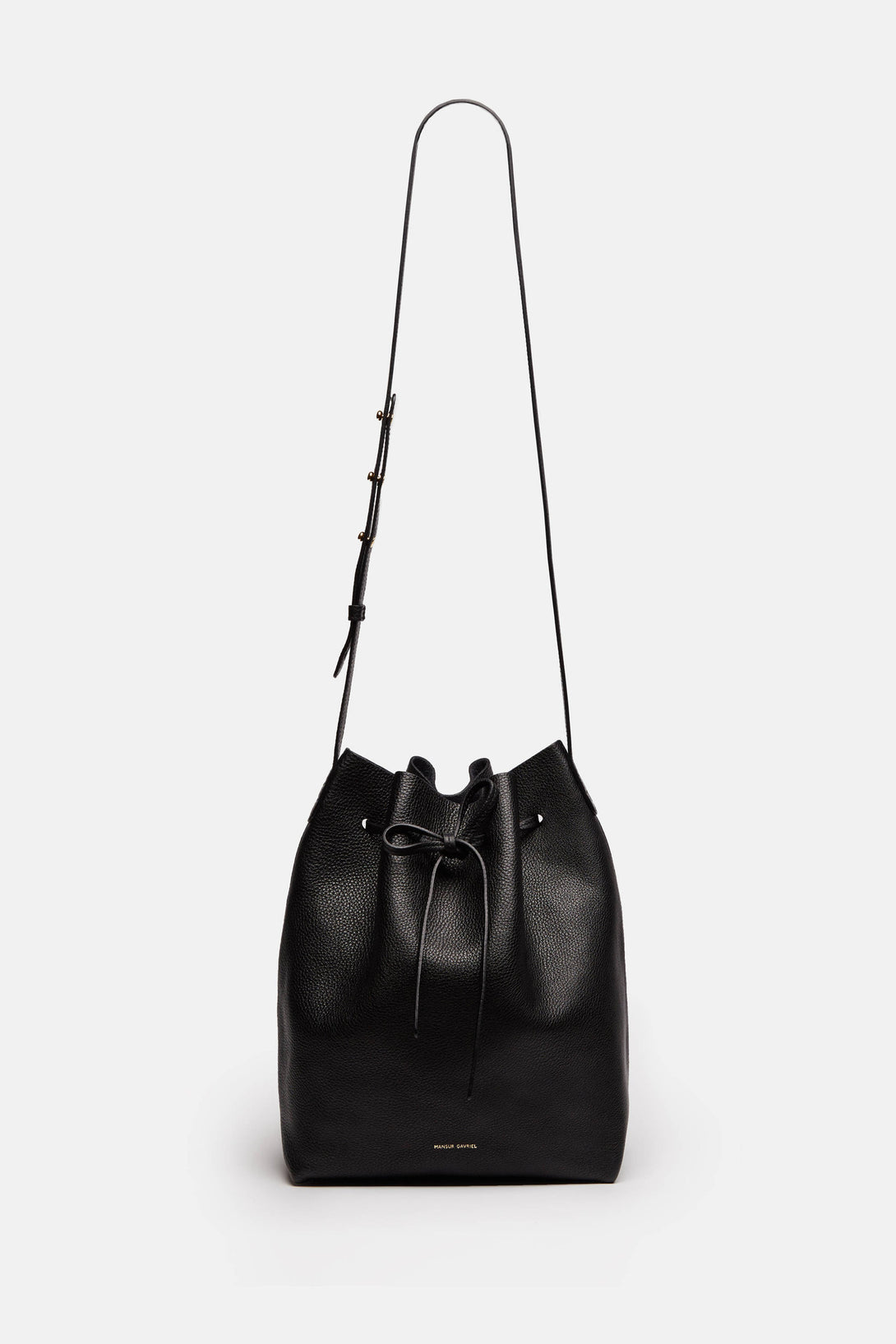 Bucket Bag Tumble - Black