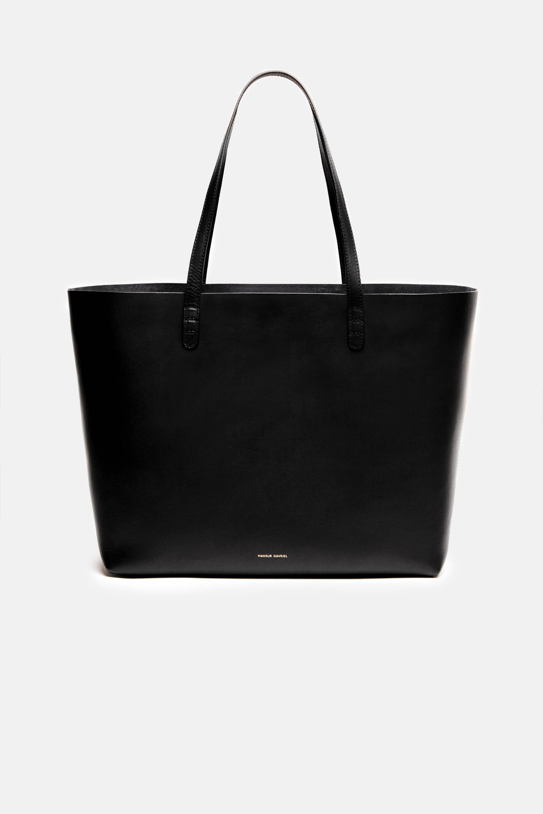 Large Tote w/ Detachable Medium Wallet - Black