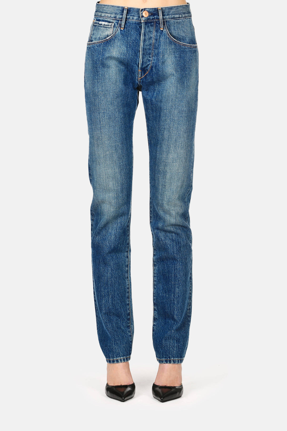 3 x 1 x The Line 5-Pocket High-Rise Jean - Allen Wash