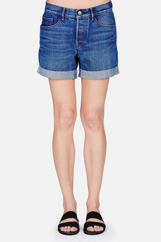 Washed Boyfriend Short - Classic Vintage