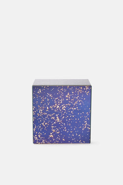 Cube Container/Side Table - Stardust Blue