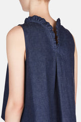 Mini Enfant Blouse - Dark Blue