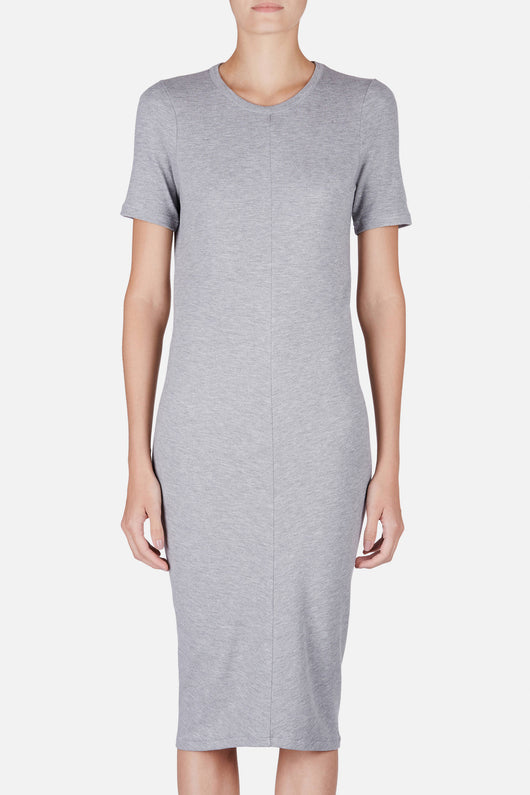 Visit Dress - Grey Melange