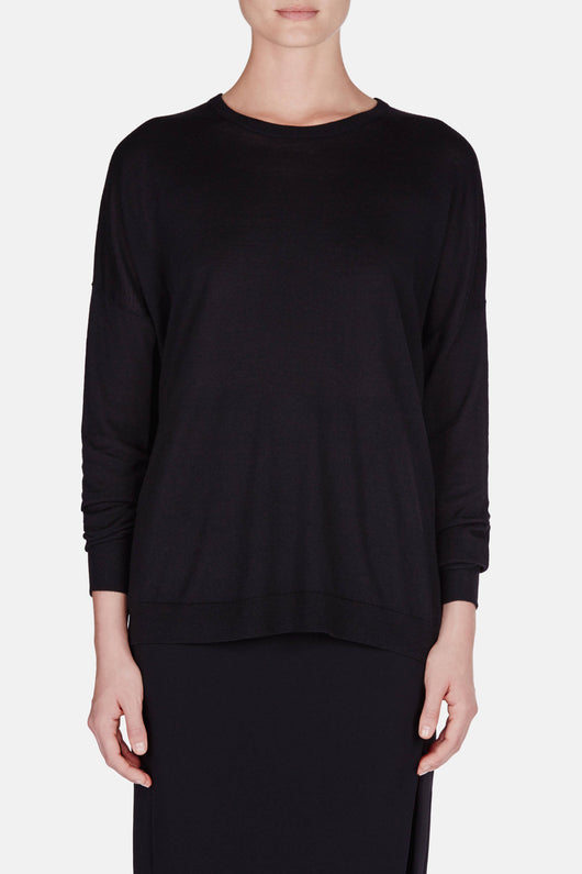 Carel Merino Sweater - Black