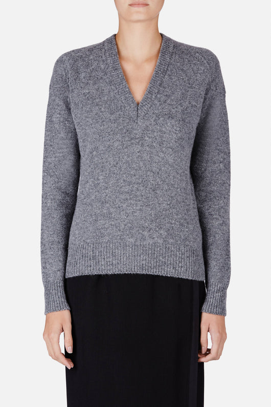 Panya Sweater - Medium Grey