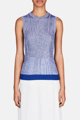 Micca Mouline Sweater - Blue/White