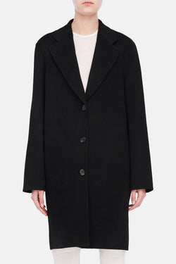 Landi Double Coat - Black