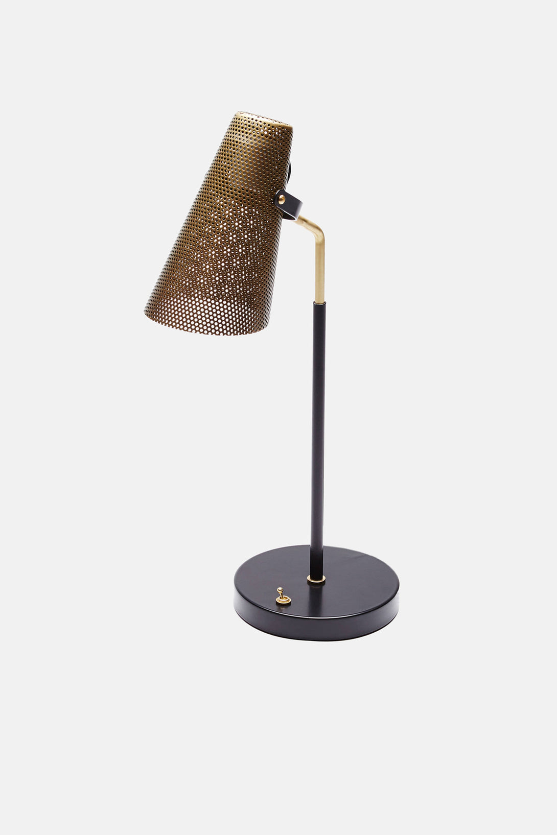 Eperon black and brass table lamp with perforated shade the line eperon black and brass table lamp with perforated shade aloadofball Choice Image