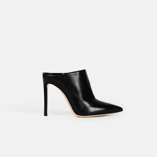 Bootie - Black Leather