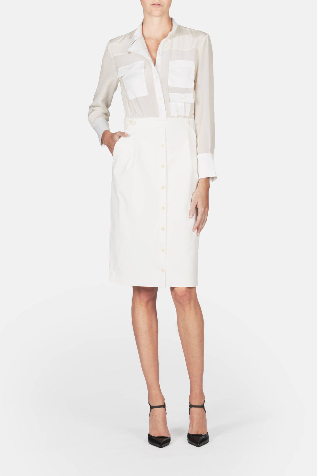 Ramona Dress - White