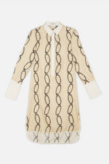 Rajiv Tunic - White Chain