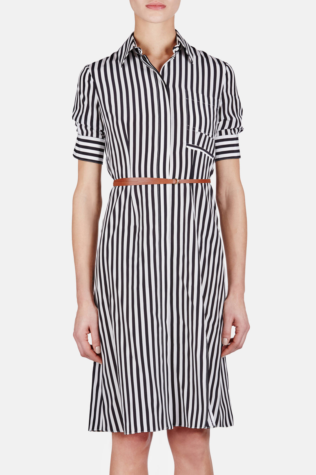 Kieran Dress - Black Stripe