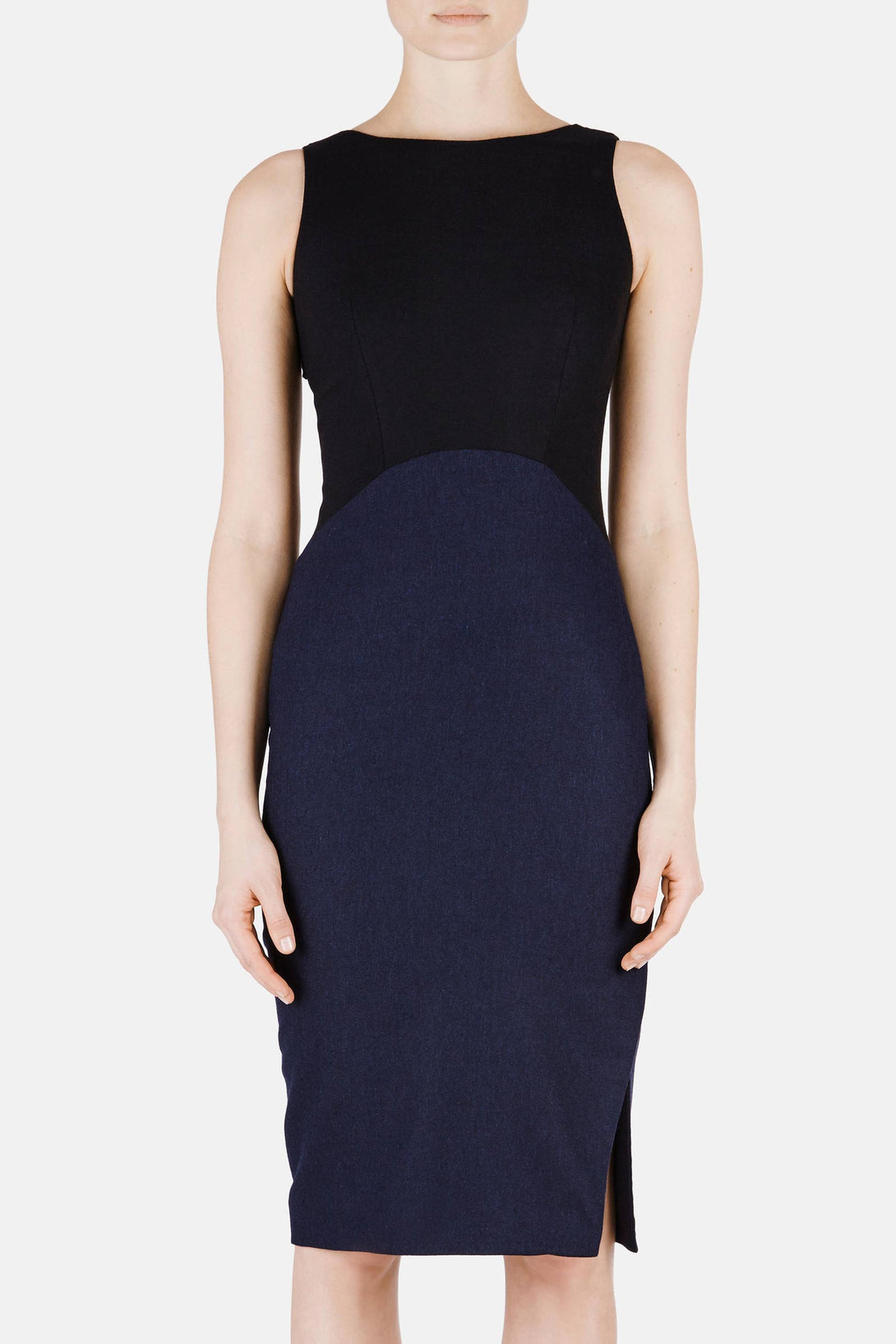 Shadow Dress - Navy