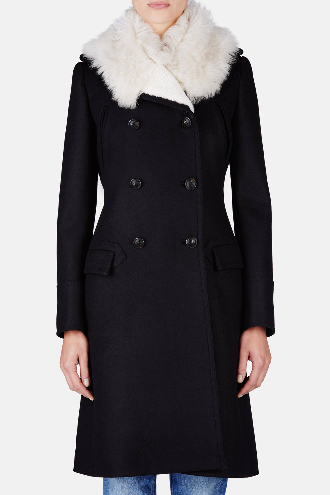 Leopold Overcoat - Black