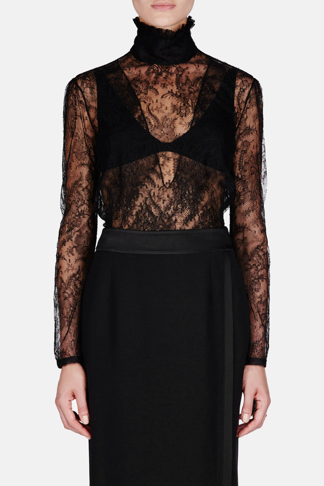 Cristal Blouse - Black