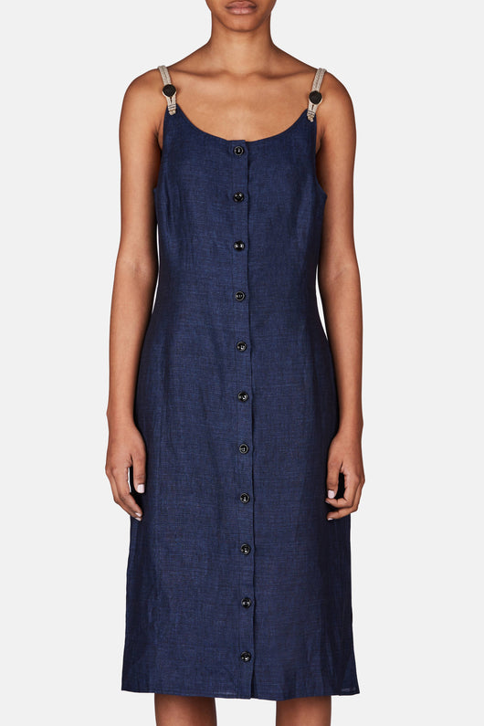 Isar Dress - Navy
