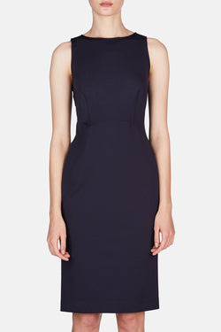 Shadow Dress - Dark Navy