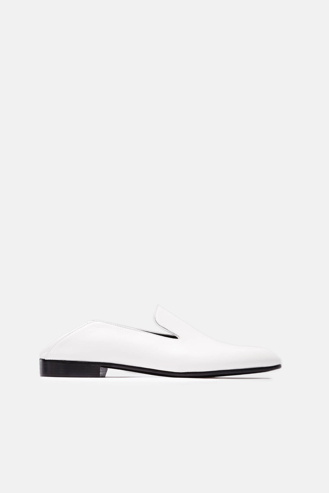 Garconne Step-Down Slipper - Bianco