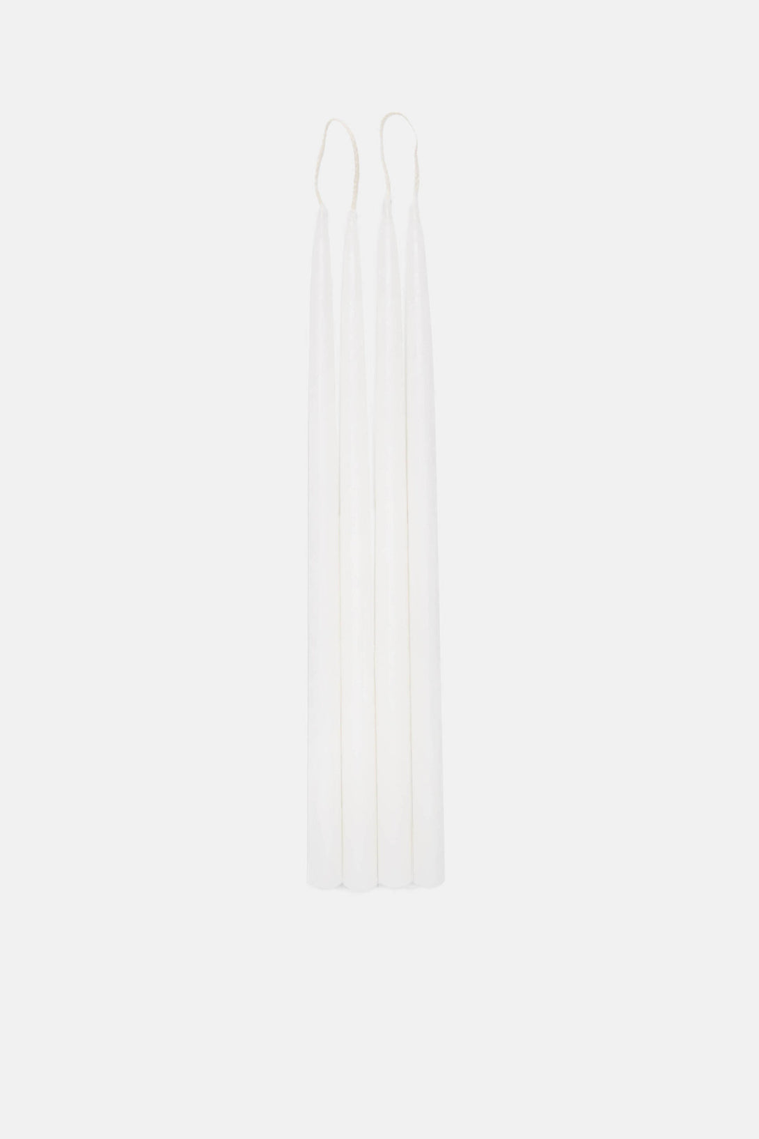 White Candles for Gemini Candelholder