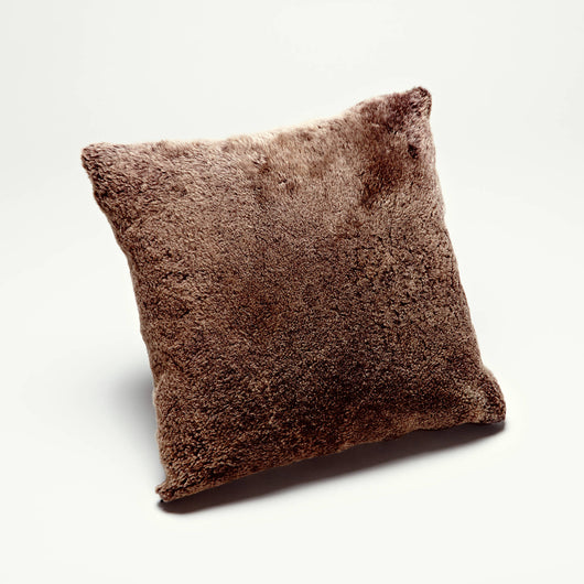 Shearling Pillows, Brown
