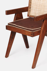 Chandigarh Office Armchair by Pierre Jeanneret