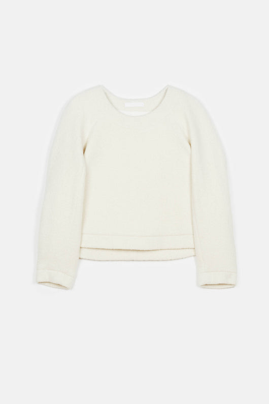 Boucle Sweater - Ivory