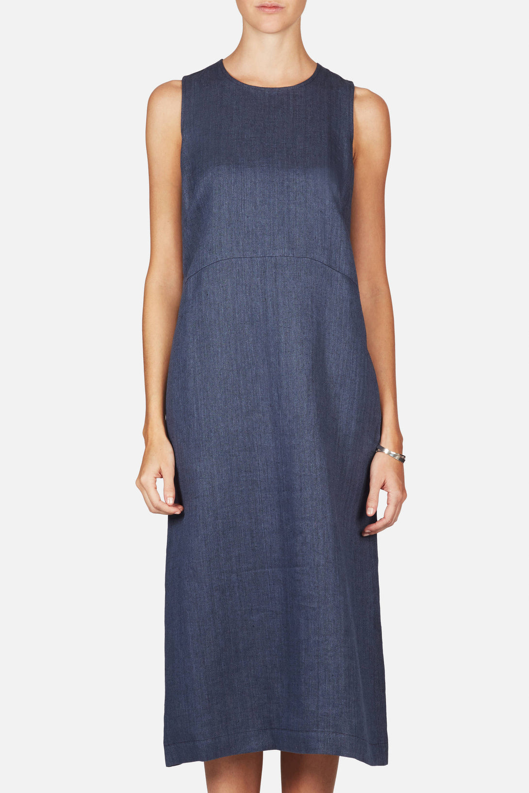 Champtaloup Dress - Washed Blue