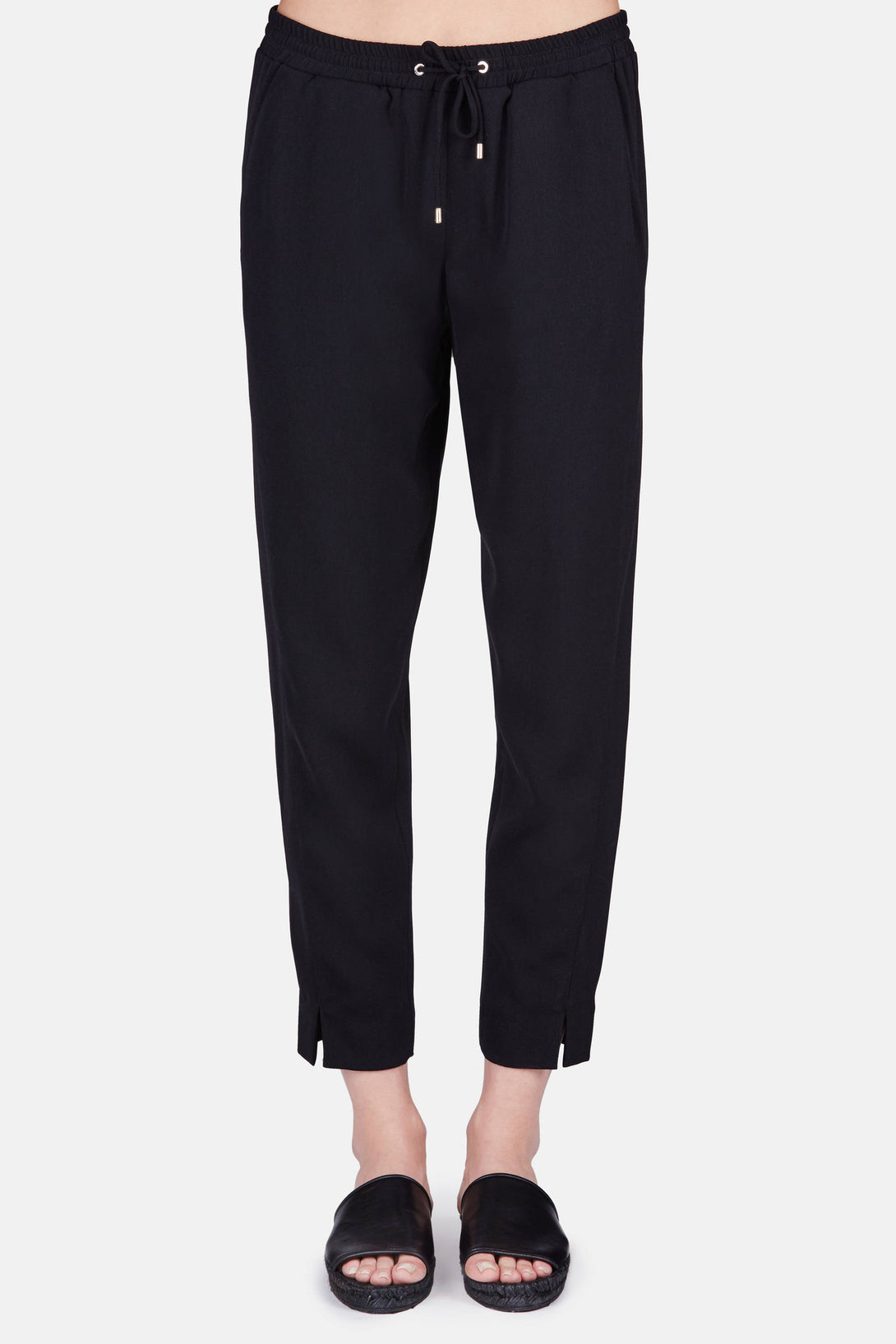 Joggers - Black Suiting