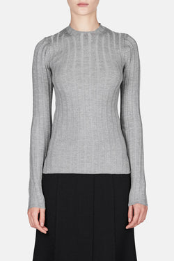 Carin Sweater - Silver Grey