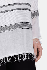 Addis V-Neck Tunic - White