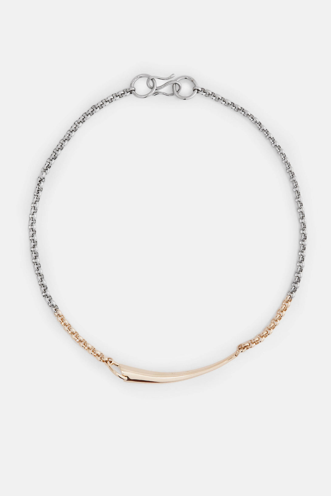 Alki Necklace - Vermeil/Silver