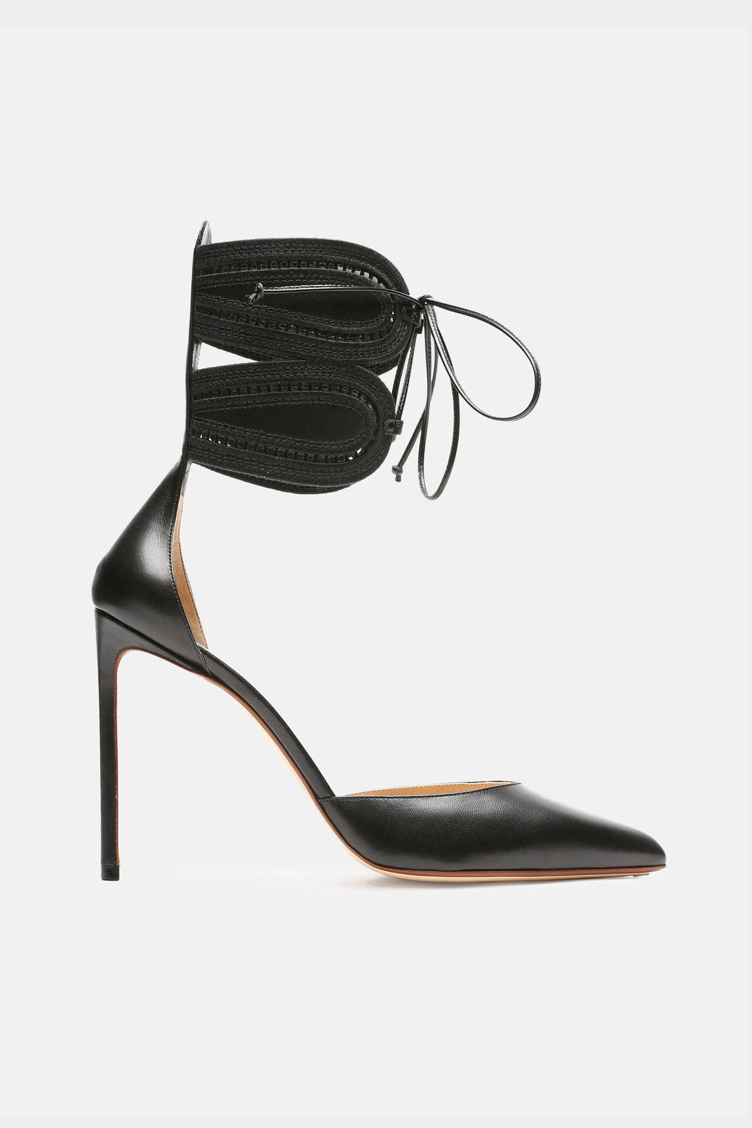 Ankle-Cuff Pump - Black