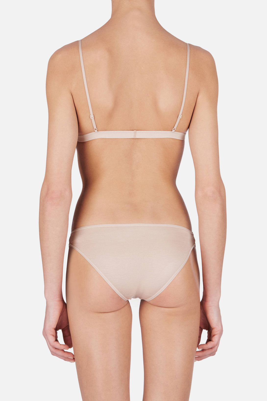 436d9195d0ea Mississippi Triangle Bra - Nude – The Line