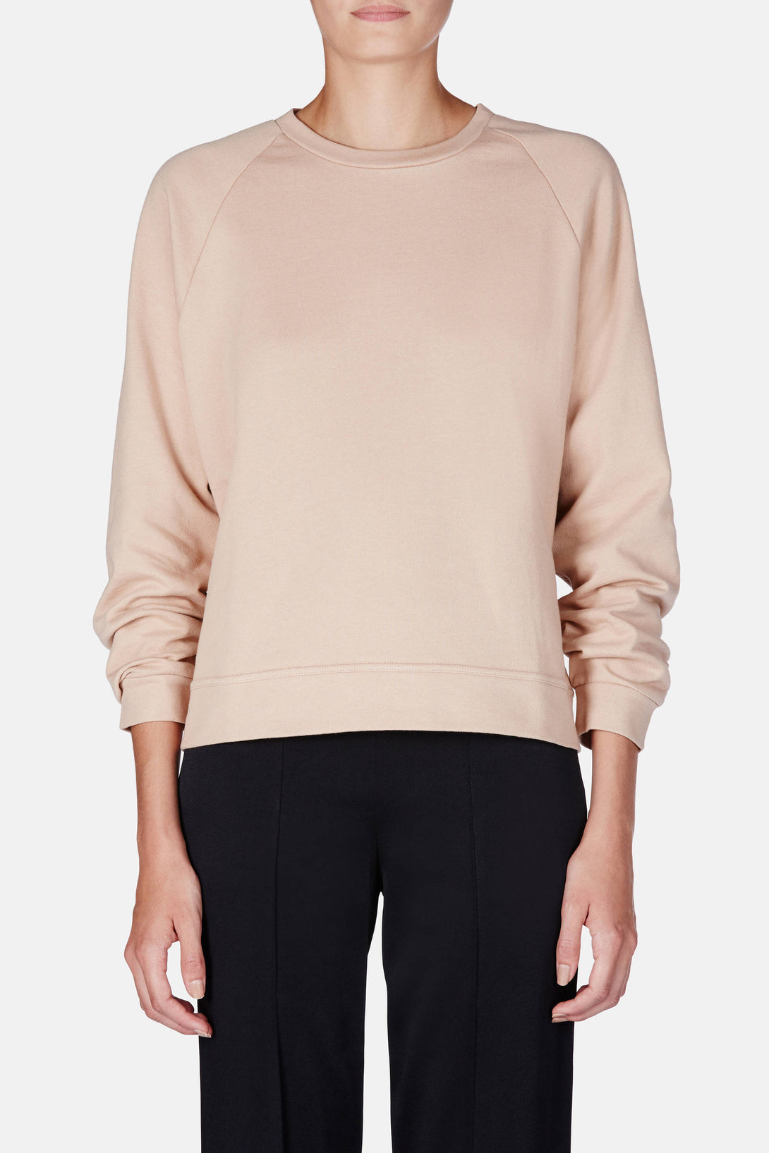 Basic Sweatshirt - Nude 2