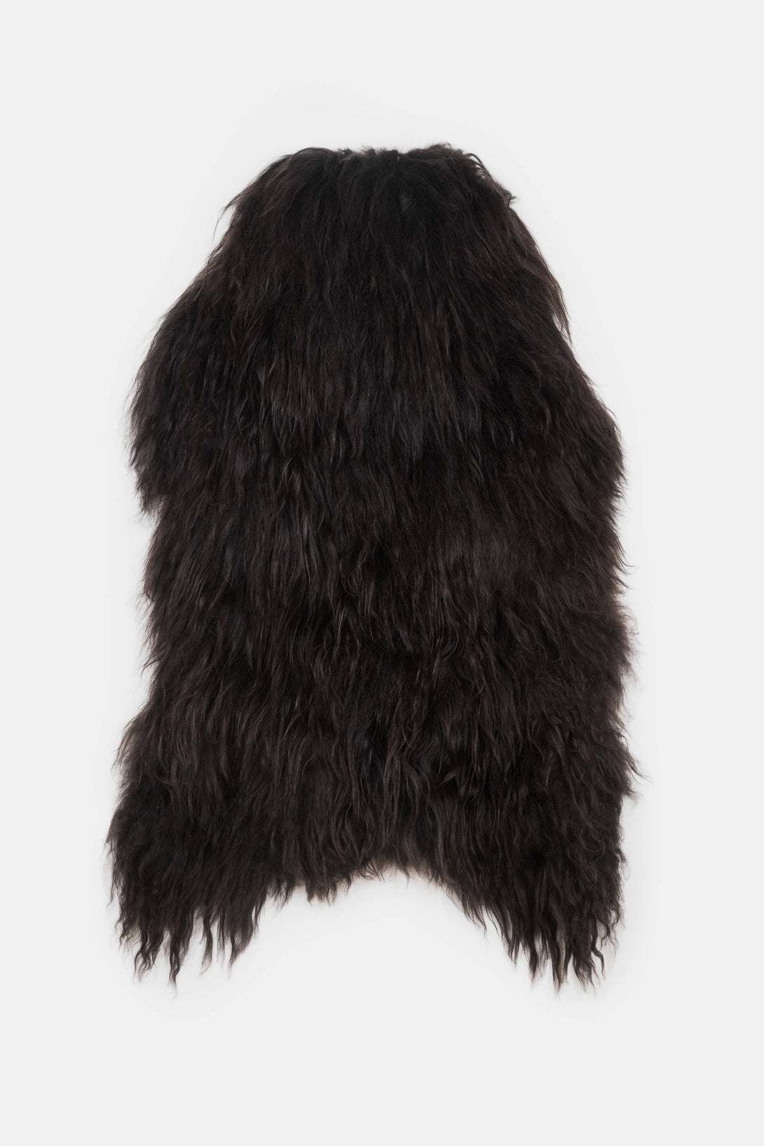 Natural Black Icelandic Sheepskin