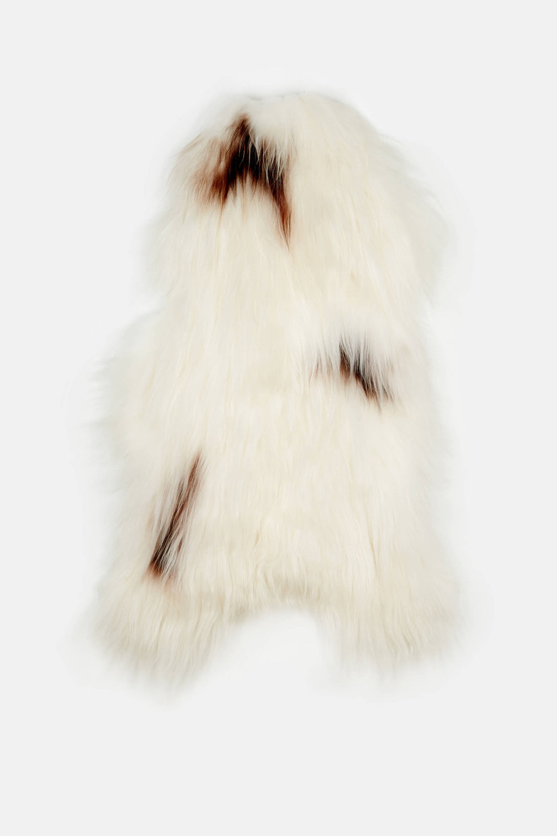 Natural Spotted Icelandic Sheepskin