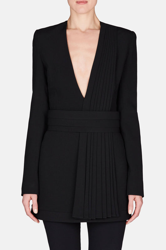 Suit Mini Dress - Black