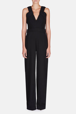 Sleeveless Jumpsuit - Black