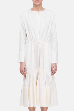 Dorraine Dress - Natural White