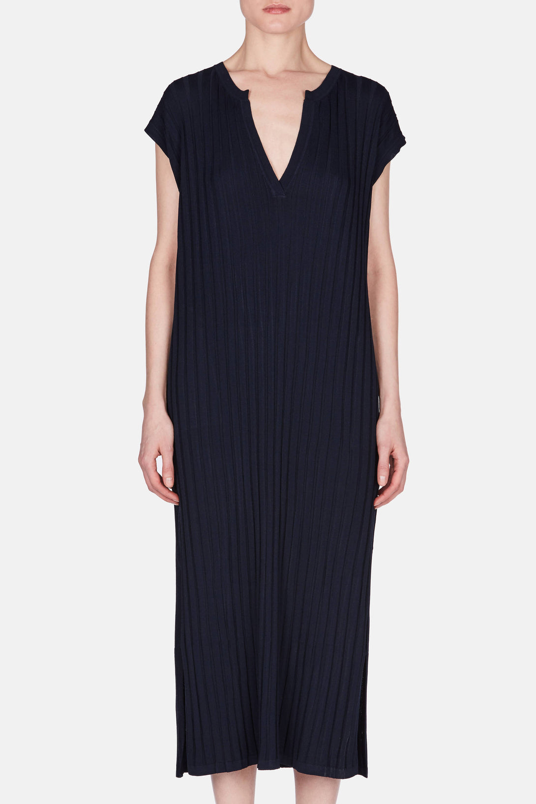 Bahai Knit Dress - Dark Navy