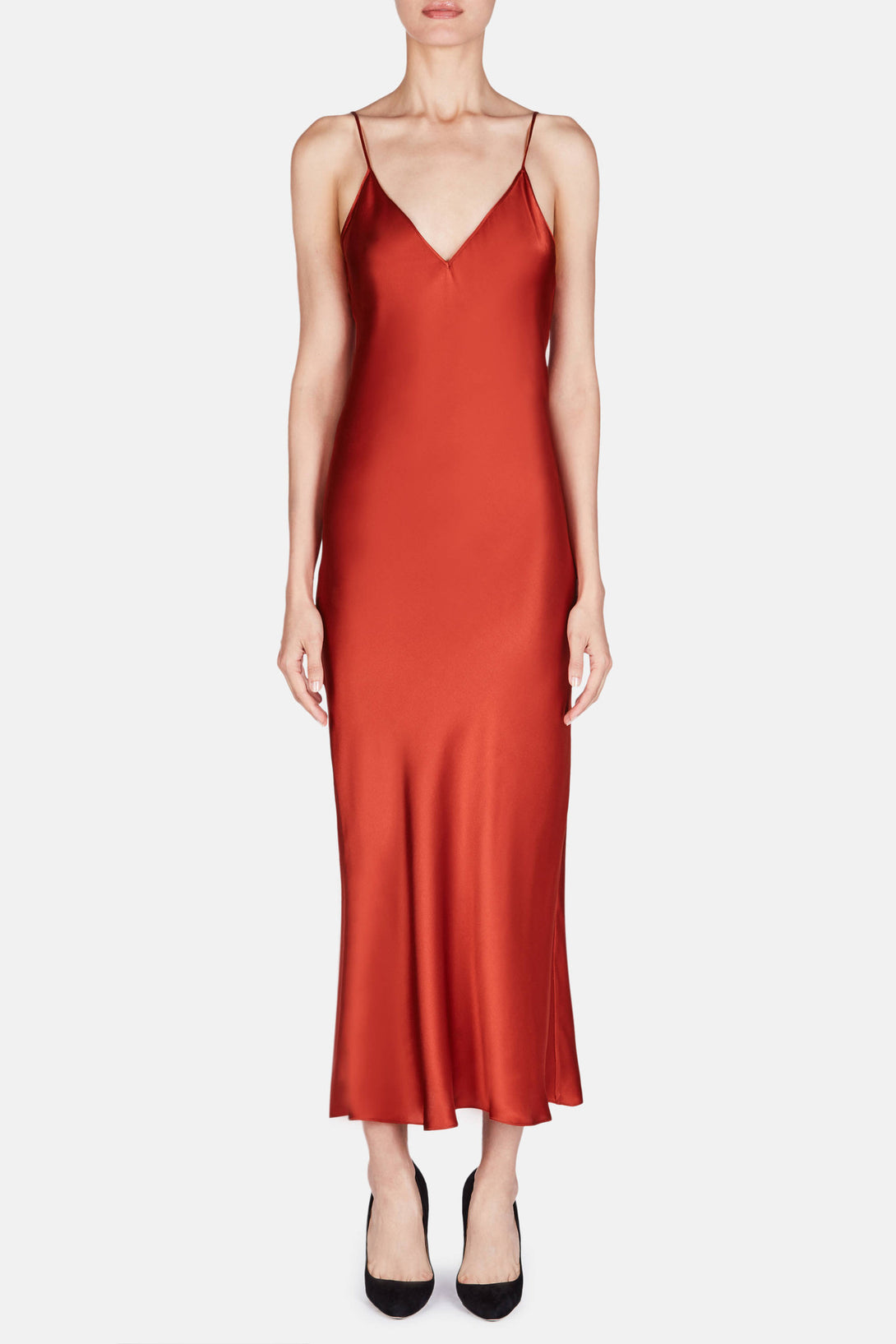 Dress 15 Bias Slip Dress - Titian