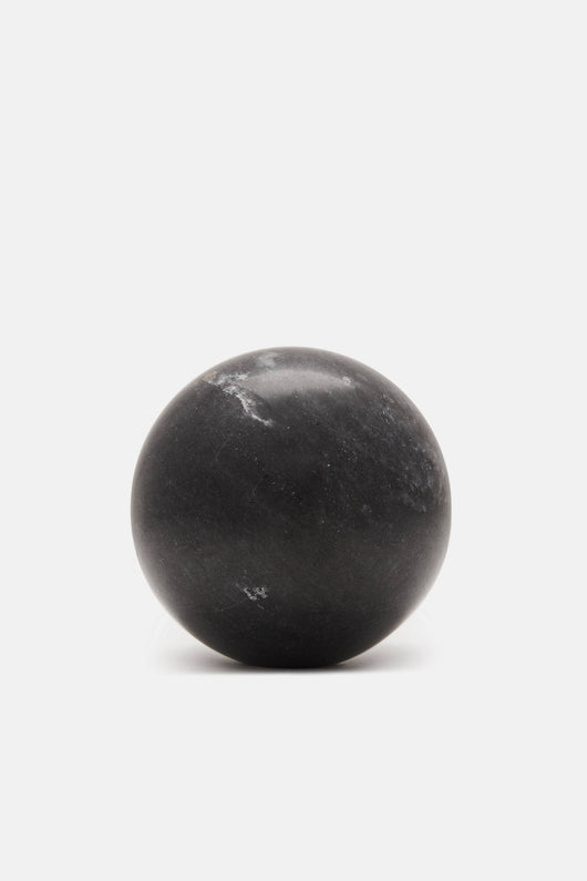 Marble Sphere - Grey