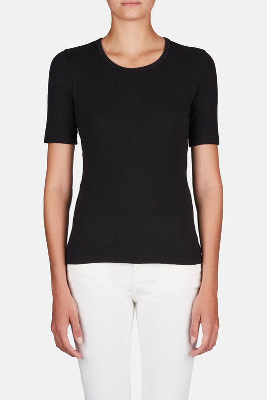 The Margaret Tee - Black