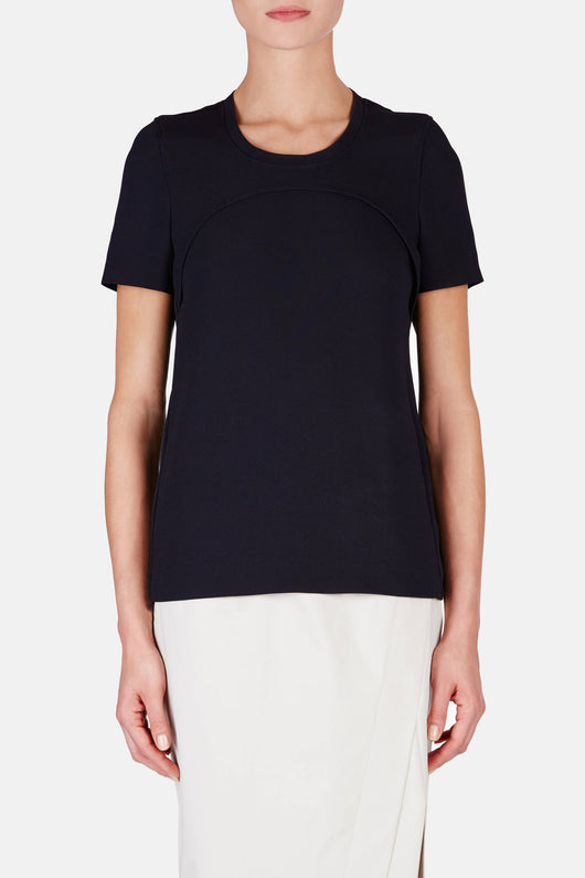 Fluid Cady Camilla Top - Dark Navy